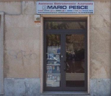 Pesce Mario, Savona, furgone