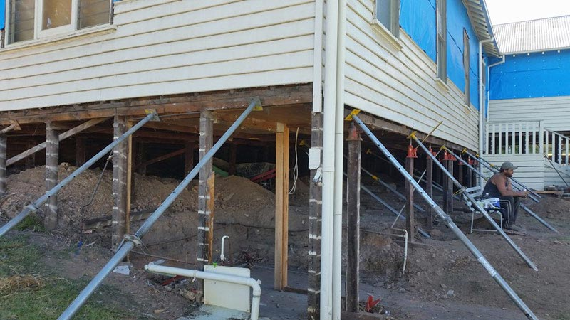 Raising and Re-levelling House Footings Service in Bendigo