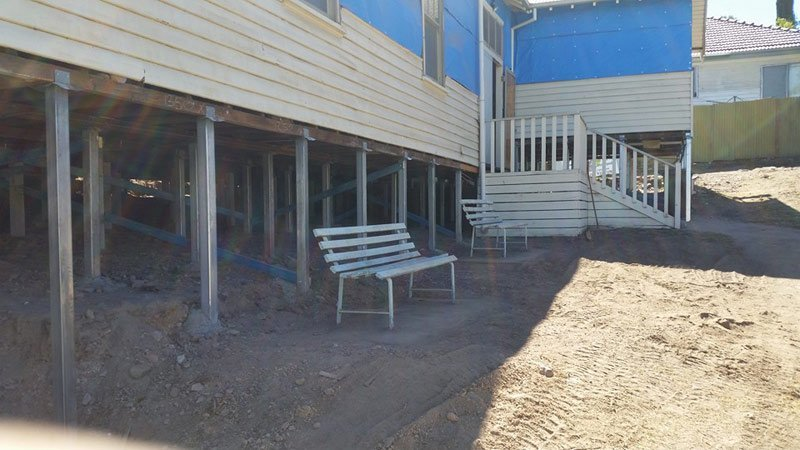 Raising and Re-levelling House Footings in Bendigo