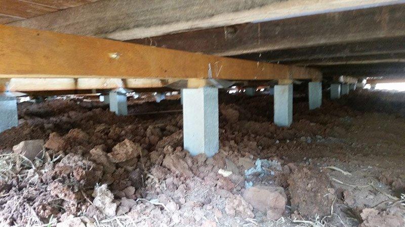 Bendigo Raising and Re-levelling House Footings