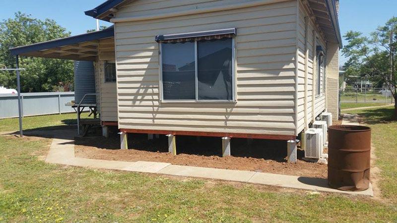 Domestic Home Re-blocking service in Bendigo