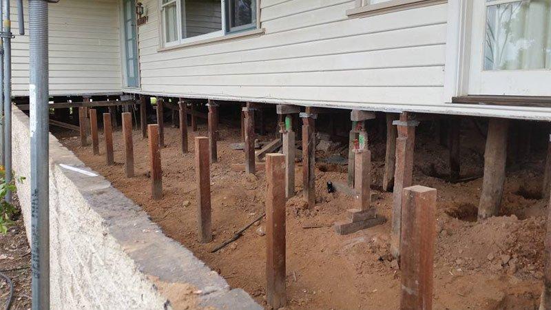 Home Re-blocking services in Bendigo