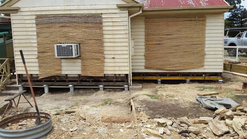 Bendigo House Re-blocking Service