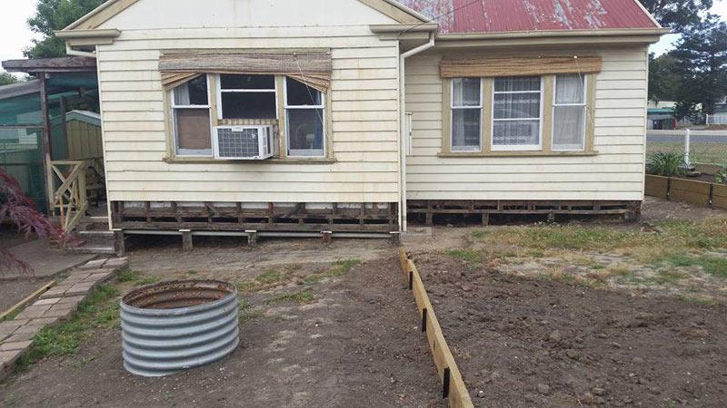 Bendigo House Re-blocking