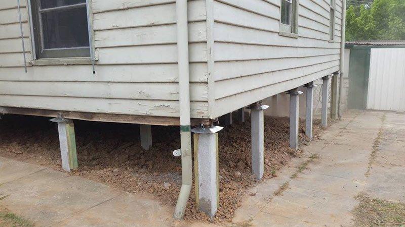 Domestic Home Restumping in Bendigo