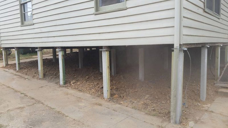 Bendigo Commercial Home Restumping