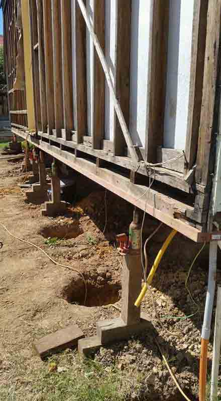 Foundation Raising by Down Under Restumping