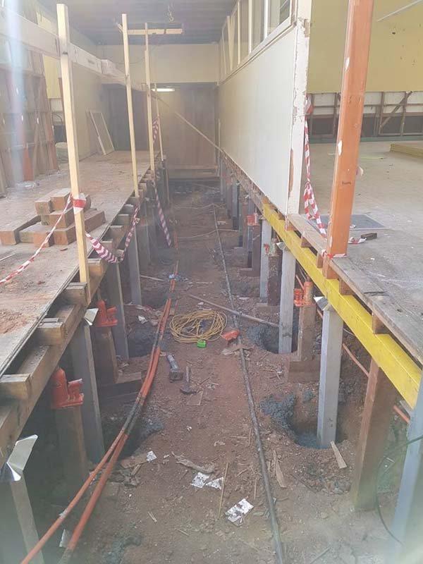 foundation raising in bendigo