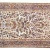 tappeto kashan udine, tappeto persiano udine, manufatto pura seta, disegno motivi floreali