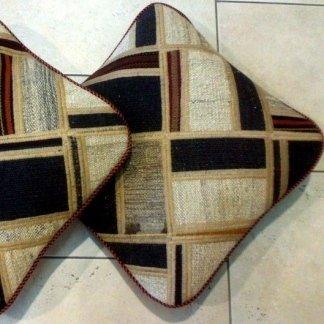 patchwork, cuscino, kilim