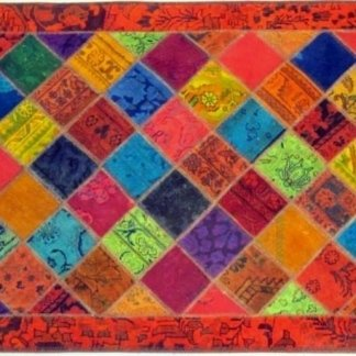 tappeto annodato, patchwork tappeto, tappeto, patchwork