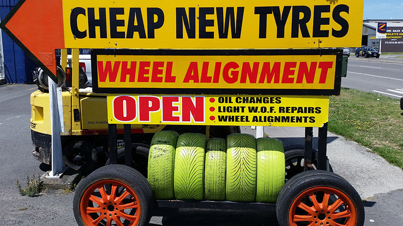 cheap, new tyres