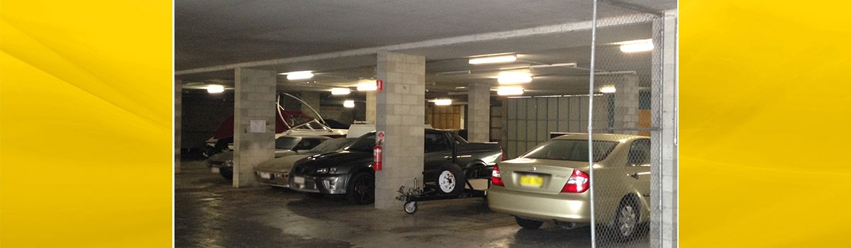 budget storage and removals basement cark park view