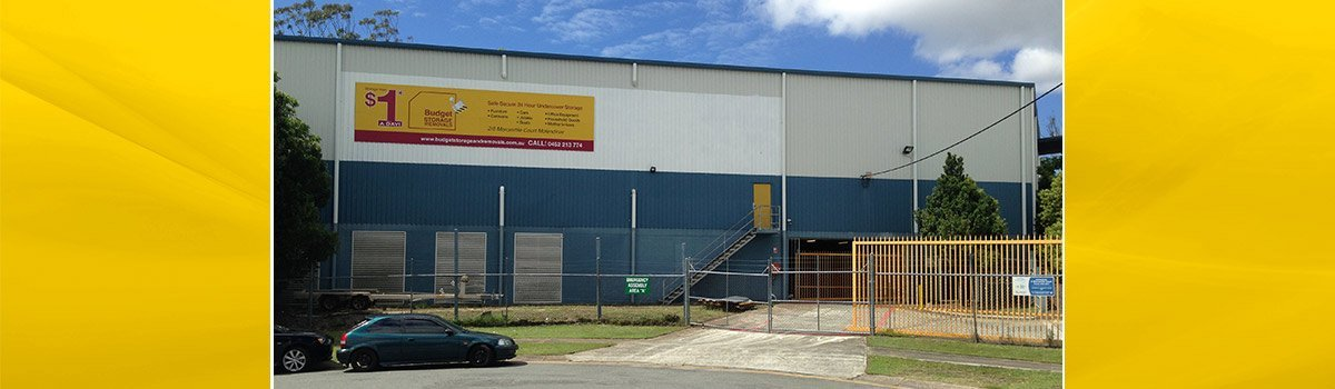budget storage and removals our business location