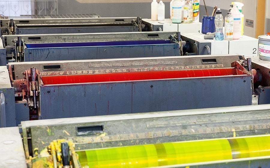 Macchine per stampa offset