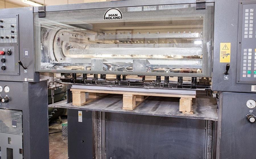 Macchine da stampa Man Roland