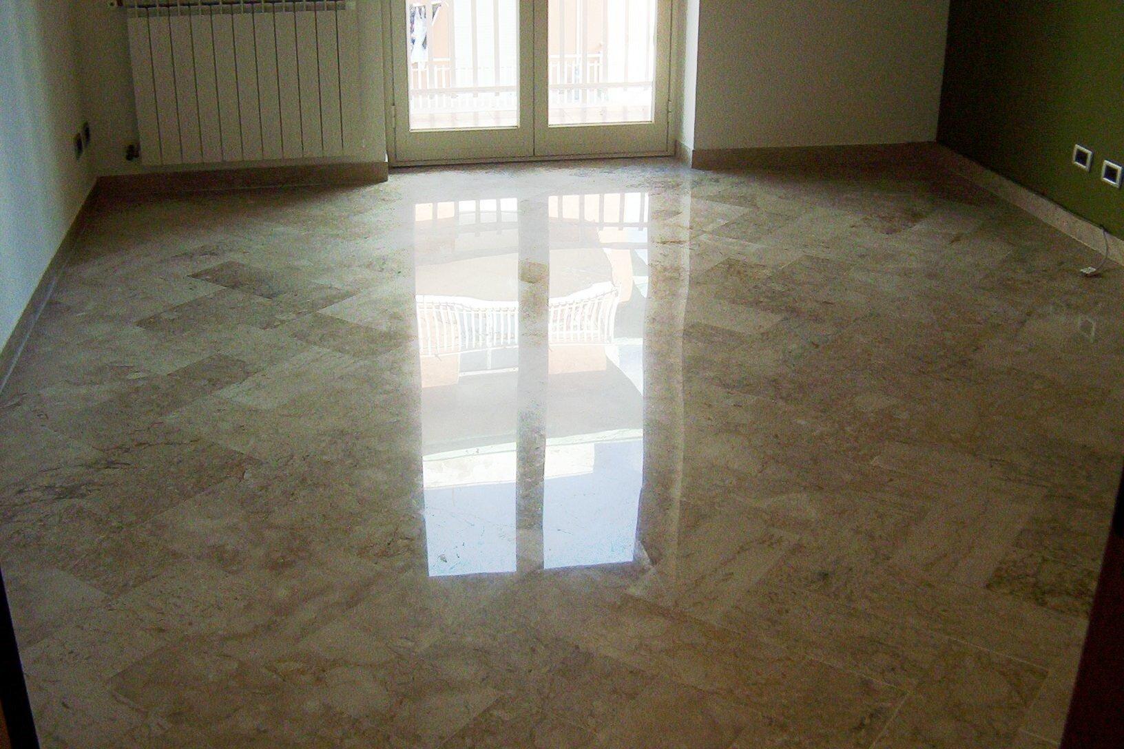 Pavimento in marmo