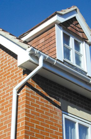 Commercial guttering - Worcestershire - Stourport Seamless Gutters - Fascia boards