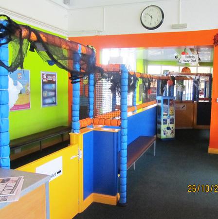 Inside of Belper's centre