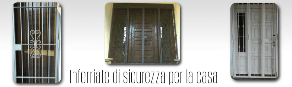 Inferriate di sicurezza per la casa