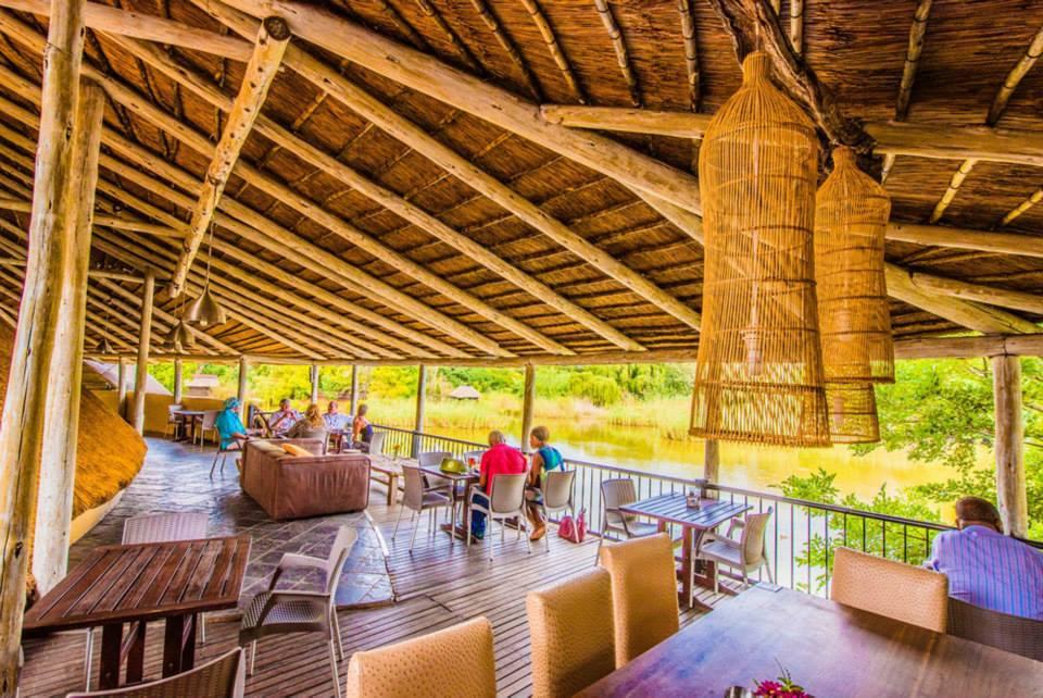 Blue Crane Restaurant and Bar Pretoria - Top Deck Venue