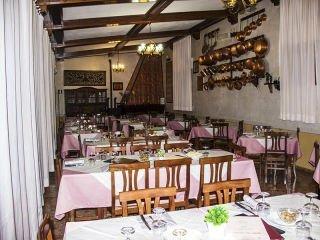 sala di un ristorante di cucina sarda