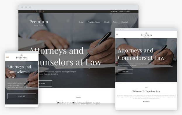 Reddrop Media Boutique Law Firm Template