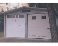 Porte garage pvc
