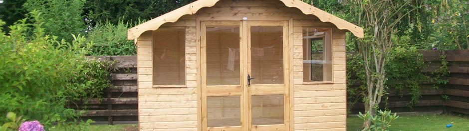Timber Sheds, Garages, Summer Houses - Kilmarnock, Ayrshire - J & W Milligan