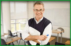 Male tutor