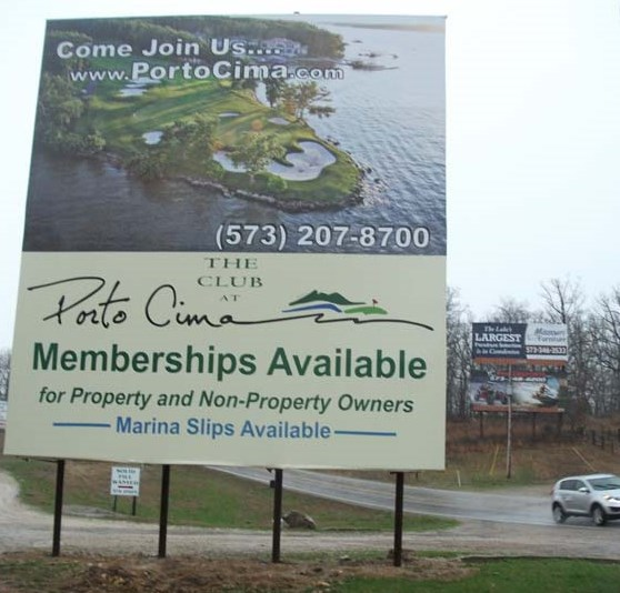 Billboards For Rent in the Lake of the Ozarks