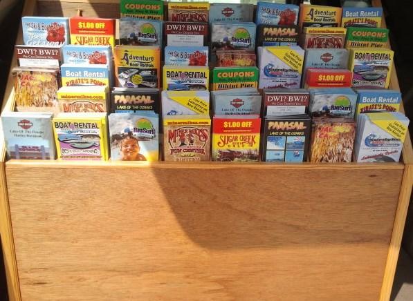 Lake Ozark Brochure  Rack Card Distribution