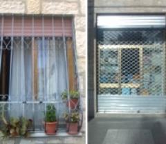 grate per finestre e serrande negozio