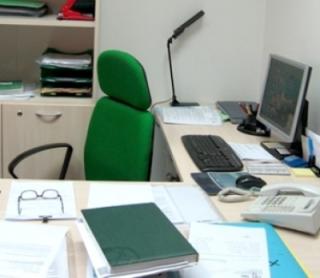 interno del centro di elaborazione dati