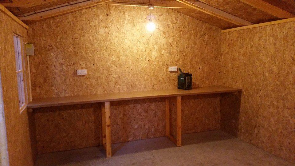 Sturdy timber frame