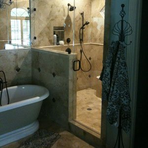 frameless shower doors houston tx