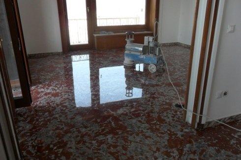 restauro pavimenti in marmo