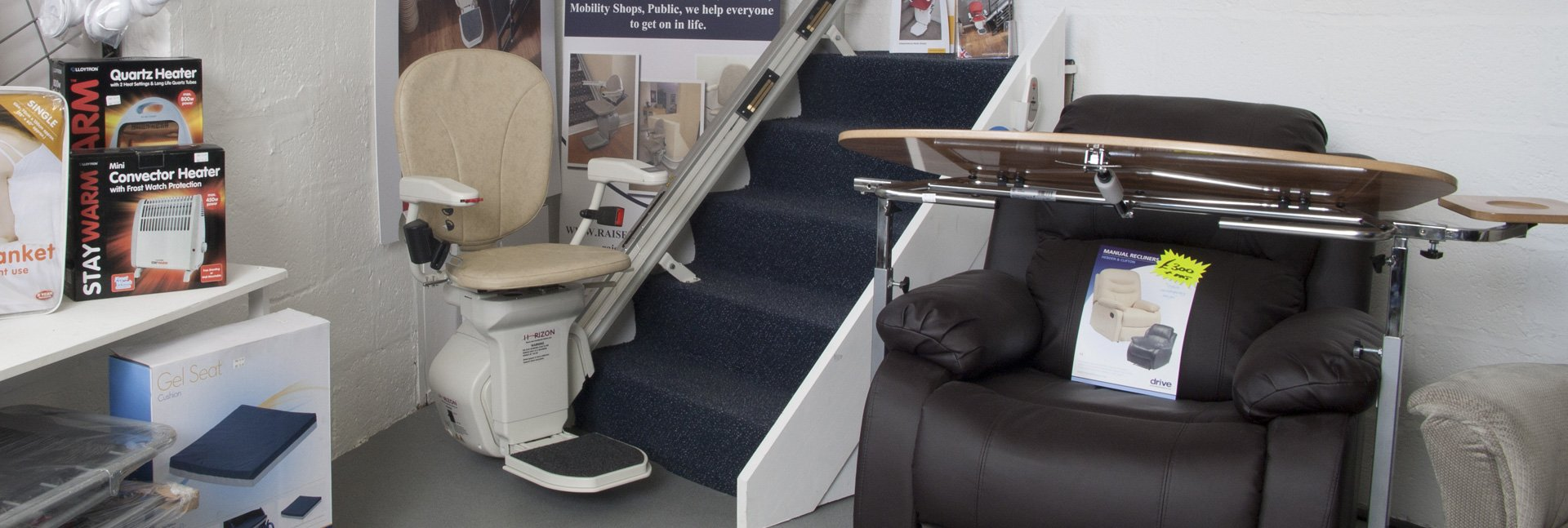 Stairlift usage demo