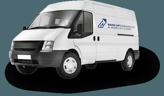Raise Lift Services service vehicle