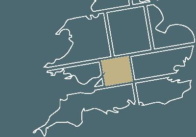 Wiltshire map