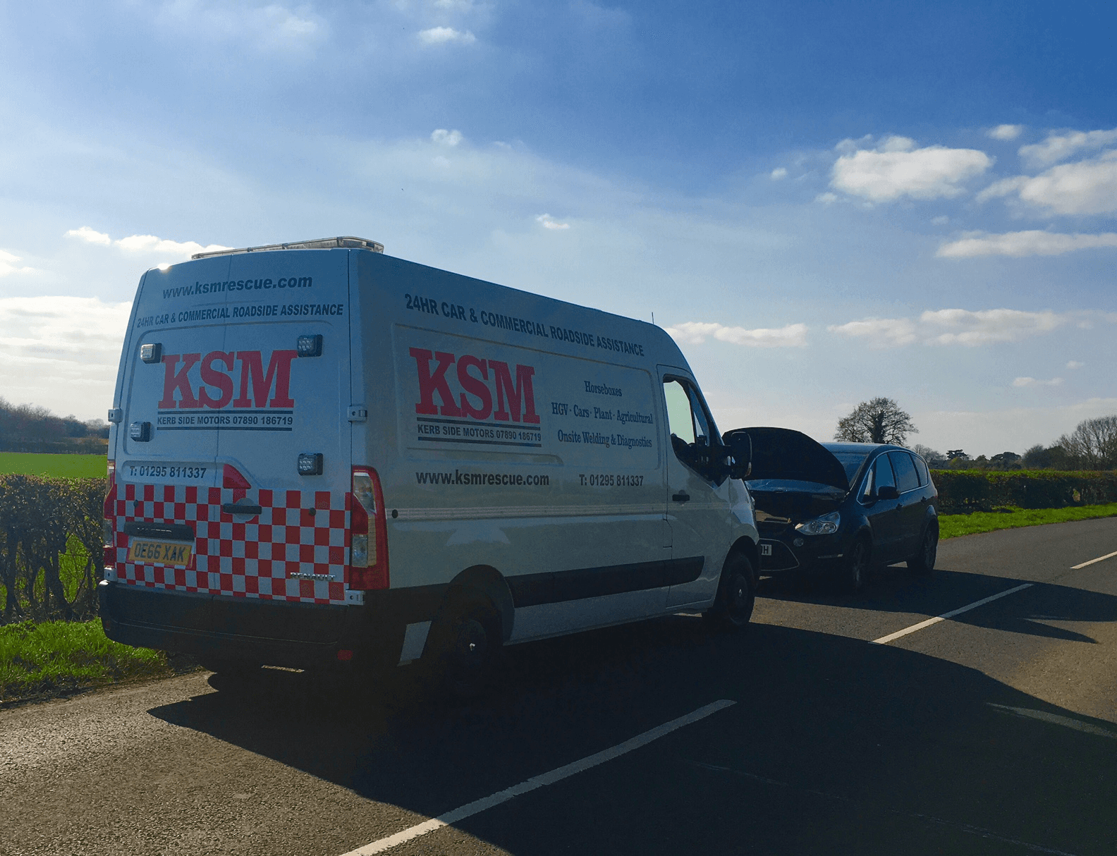 KSM Rescue company van