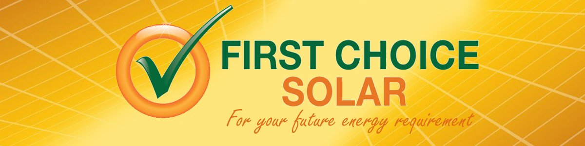 first choice solar logo