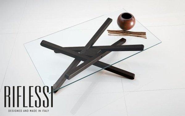 Tavolo in legno o vetro Shangai