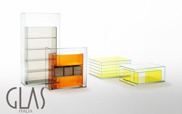 Tavolini contenitori e mobili a giorno