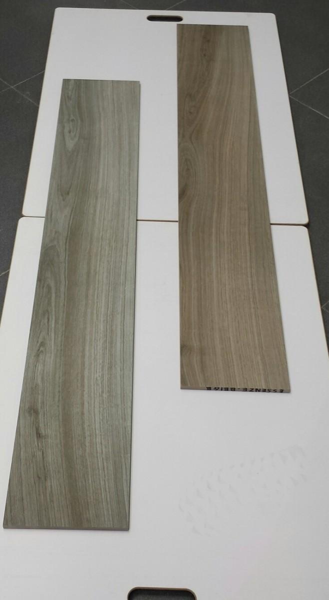 Piastrelle in finto legno in gres porcellanato retificato