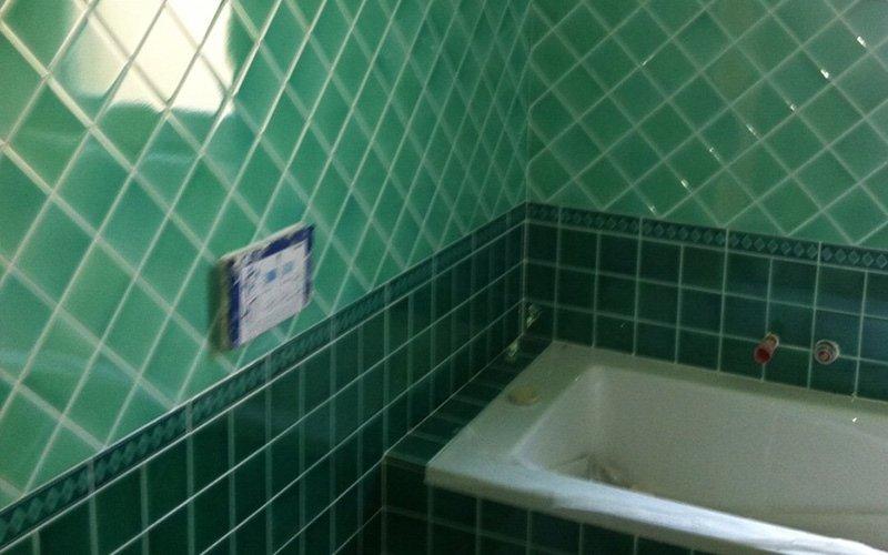 particolare vasca da bagno