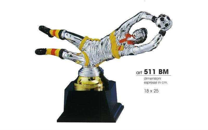 Trofeo portiere di calcio
