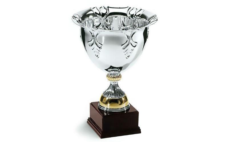 Coppa argento oro
