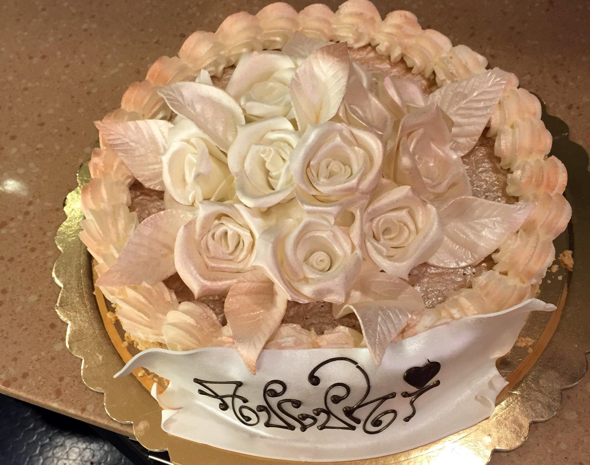 torta personalizzata cerimonia