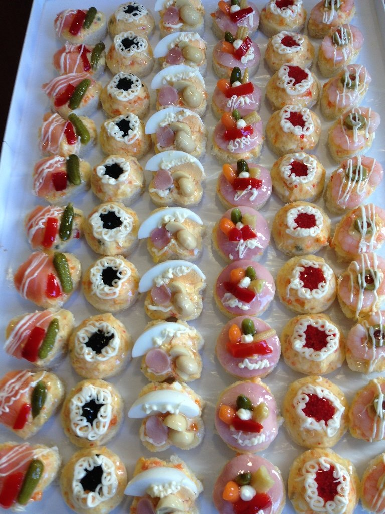 finger food per matrimoni